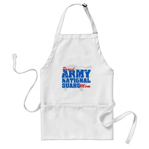 Army National Guard Mom Adult Apron