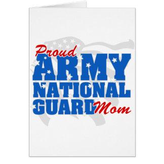 Army National Guard Mom Card