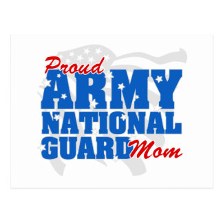 Army National Guard Mom Postcard