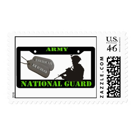 Army National Guard Postage Stamps