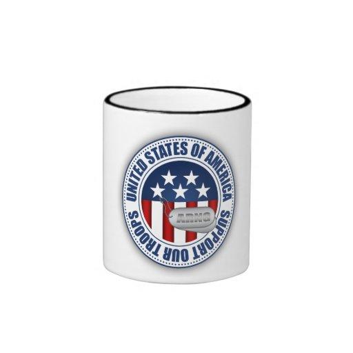 Army National Guard Ringer Mug