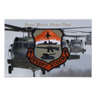 army navy air force marines desert storm photo print