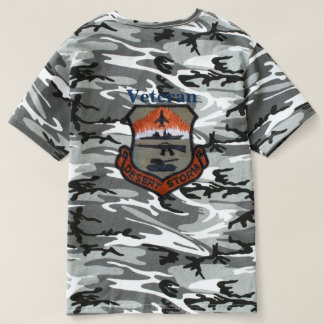Army Navy Air Force Marines Ranger Desert Storm Shirt