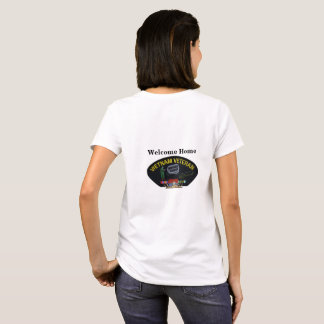 Army Navy Air Force Marines Ranger Vietnam Vets T-Shirt