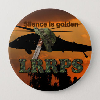 Army Navy Air Force Marines Rangers LRRPS Recon Button