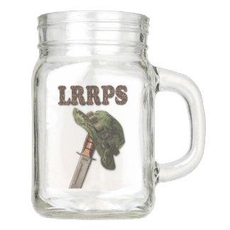 Army Navy Air Force Marines recon LRRPS LRRP Mason Jar