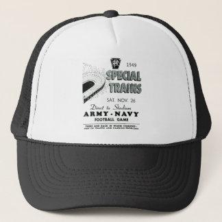 Army Navy Game Trains via Pennsylvania Railroad Trucker Hat