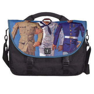 Army, Navy & Marines Commuter Bag