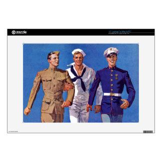 Army, Navy & Marines Laptop Skin