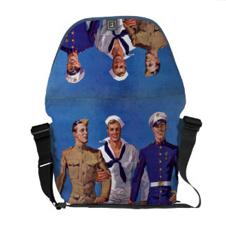Army Navy Marines Courier Bags