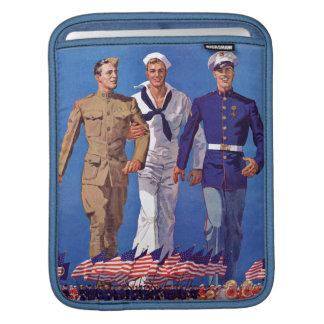 Army, Navy & Marines Sleeve For iPads