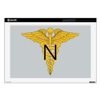 """Army Nurse Corps 17"""" Laptop Skin"""