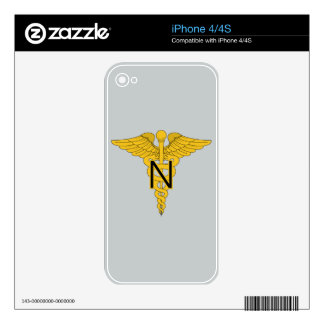 Army Nurse Corps Skin For The iPhone 4S