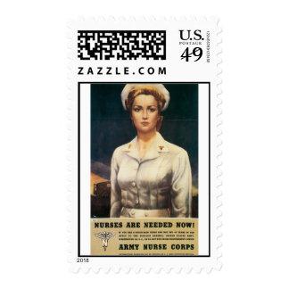 Army Nurse Corps World War 2 Postage