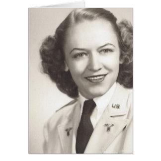 Army Nurse - WWII Card