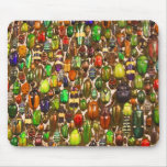 Army of Beetles and Bugs Mouse Pads