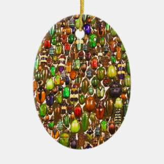Army of Beetles and Bugs Ornaments