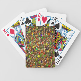 Army of Beetles and Bugs Bicycle Playing Cards