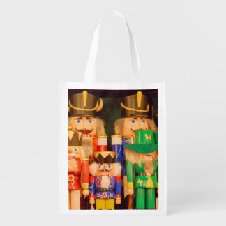 Army of Christmas Nutcrackers Grocery Bag