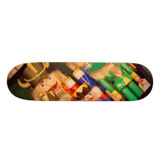 Army of Christmas Nutcrackers Skateboard Deck