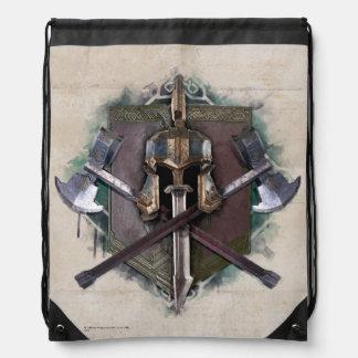 Army Of Dwarves Weaponry Drawstring Bag