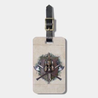 Army Of Dwarves Weaponry Luggage Tag