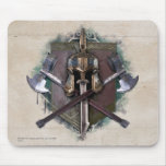 Army Of Dwarves Weaponry Mouse Pad