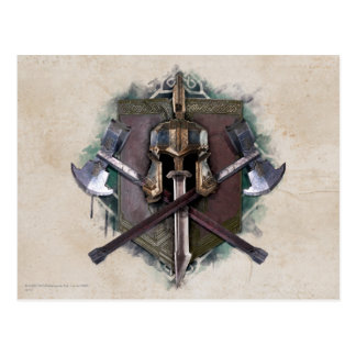 Army Of Dwarves Weaponry Postcard
