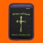Army of God Christian products iPad Mini Sleeve