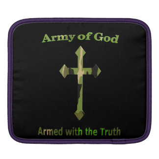 Army of God Christian products Sleeve For iPads