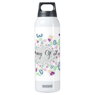 Army of love 16 oz insulated SIGG thermos water bottle