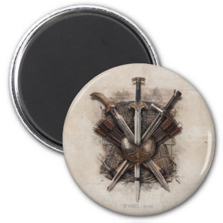 Army Of Men Weaponry Magnet