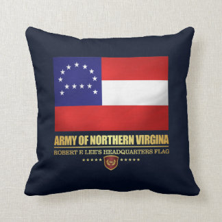 Army of Northern Virginia (F10) Throw Pillow