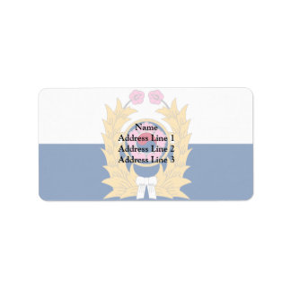 Army of of the republic of korea south africa custom address label