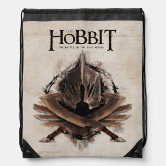 Army Of Orcs Weaponry Drawstring Backpack