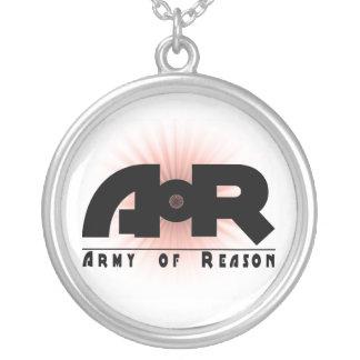 Army of Reason Starburst Round Pendant Necklace