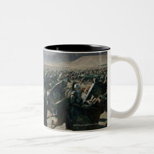 Army of Rohan Two-Tone Coffee Mug