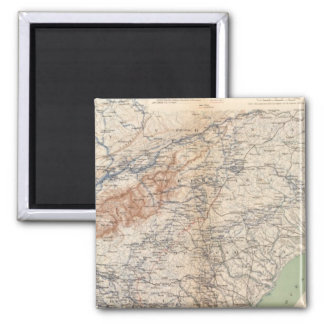 Army of the Cumberland campaigns 2 Inch Square Magnet