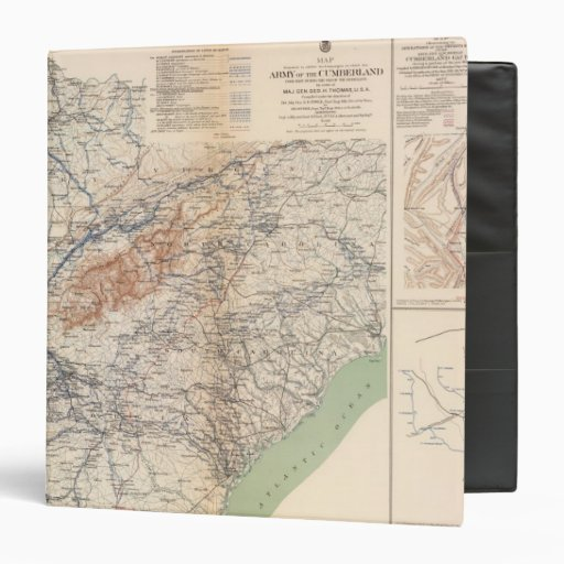 Army of the Cumberland campaigns Binder