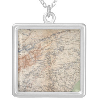 Army of the Cumberland campaigns Square Pendant Necklace