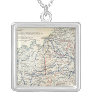 Army of the Cumberland Square Pendant Necklace