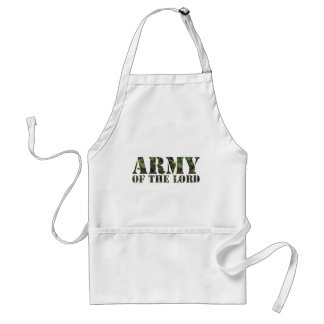 Army Of the Lord Adult Apron