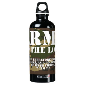 Army of the Lord Aluminum Water Bottle