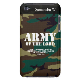 Army of the Lord, Bible Scripture Camo iPod Case-Mate Case
