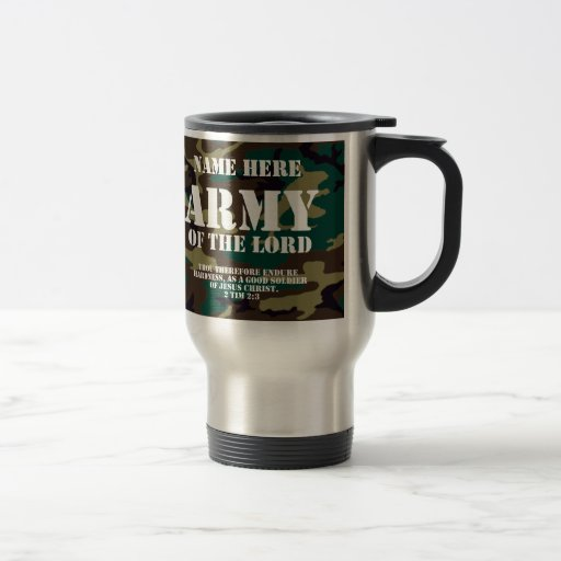 Army of the Lord, Bible Scripture/Name Coffee Mug