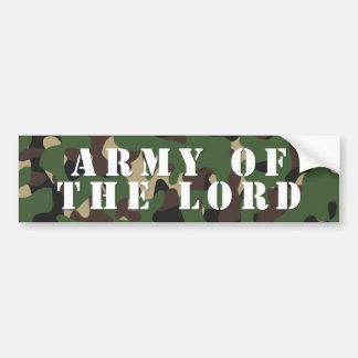 Army Of The Lord Bumper Sticker