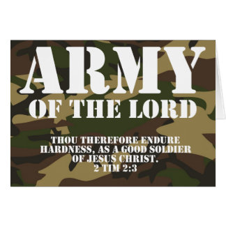 Army of the Lord Card