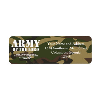 Army of the Lord Custom Return Address Labels