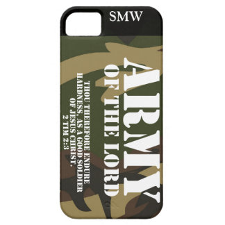 Army of the Lord iPhone SE/5/5s Case