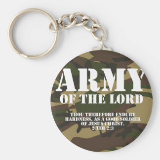 Army of the Lord Keychain